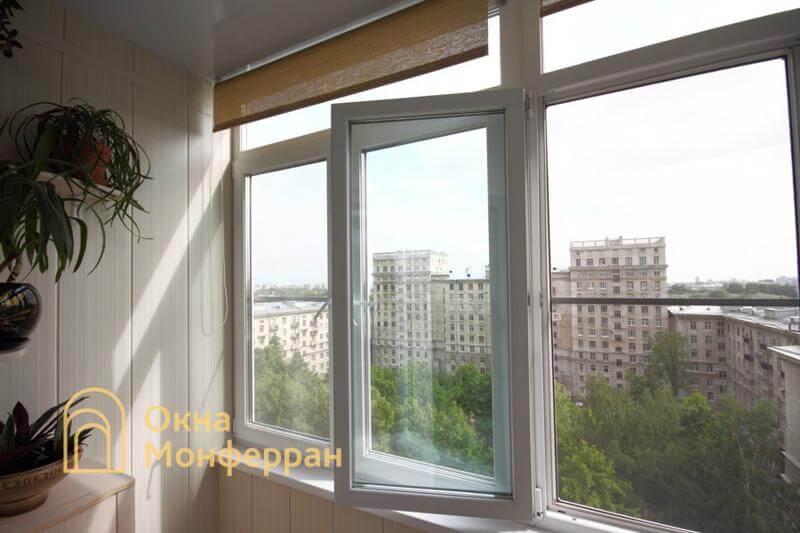 Остекление и отделка балкона в сталинке ул. Свеаборгская