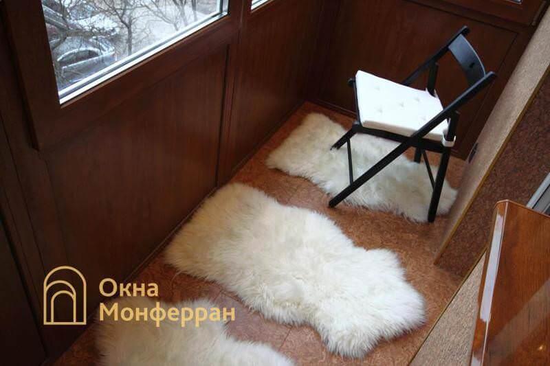 Остекление балкона с выносом пола пр. Новоизмайловский