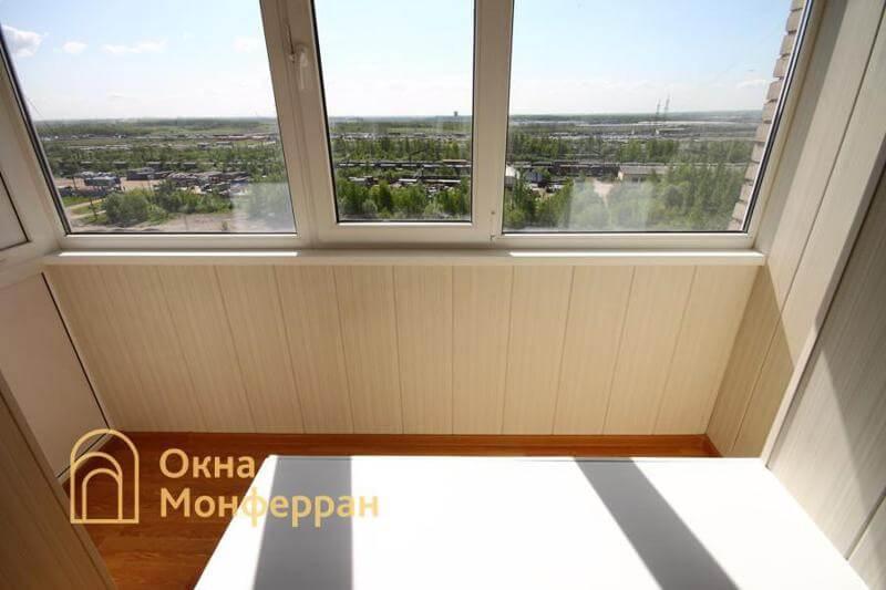 Объединение балкона с комнатой ул. Малая Балканская