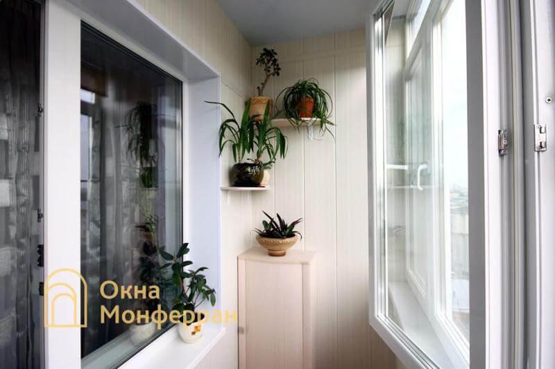 Остекление балкона в сталинке ул. Свеаборгская