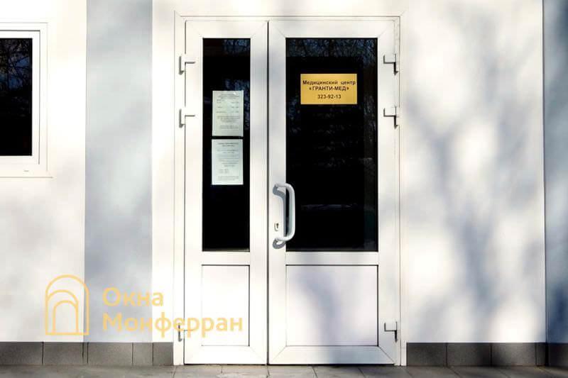 Металлопластиковая входная дверь ул. Корнеева