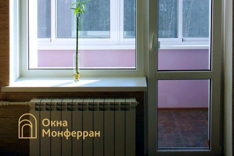 Балконная дверь с окном в сталинке пр. Московский