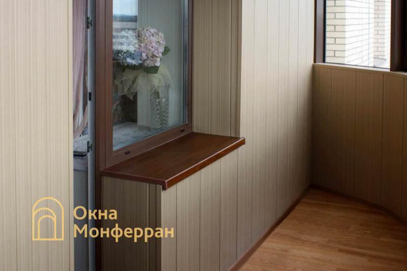Балконный блок с отделкой под ключ ул. Бутлерова