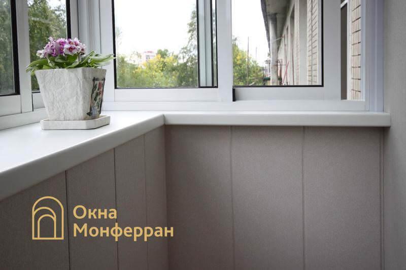 Холодное остекление балкона с выносом пр. Юрия Гагарина