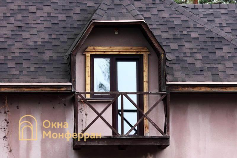Балконный блок в коттедже пос. Васкелово