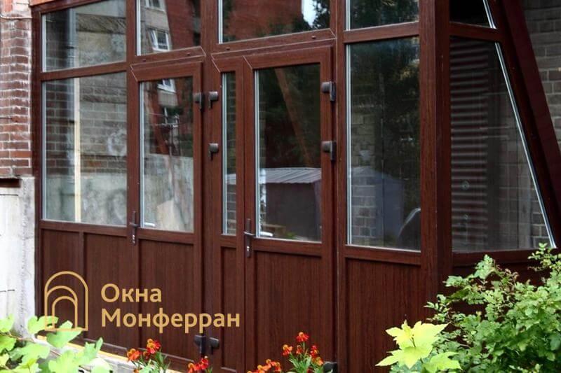 Металлопластиковый входной тамбур ул. Сикейроса