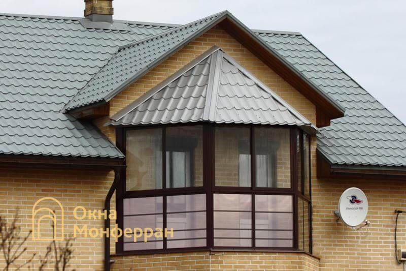 Холодное остекление балкона пос. Невская Дубровка