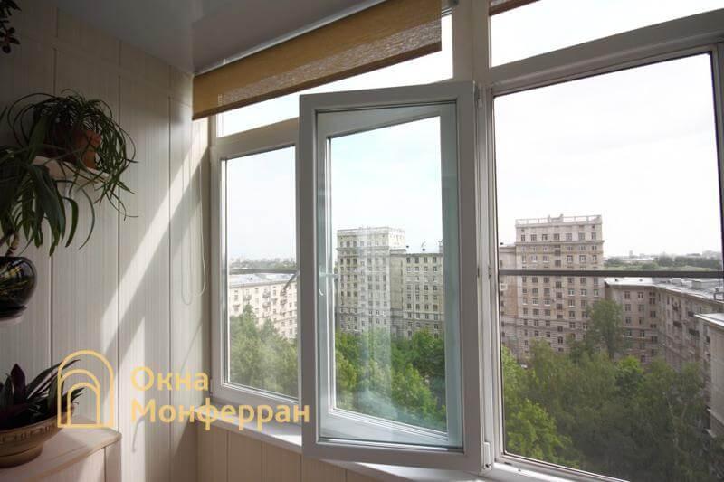 Теплое остекление балкона в сталинке ул. Свеаборгская