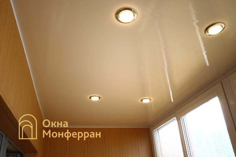 Теплое остекление балкона пр. Ленинский