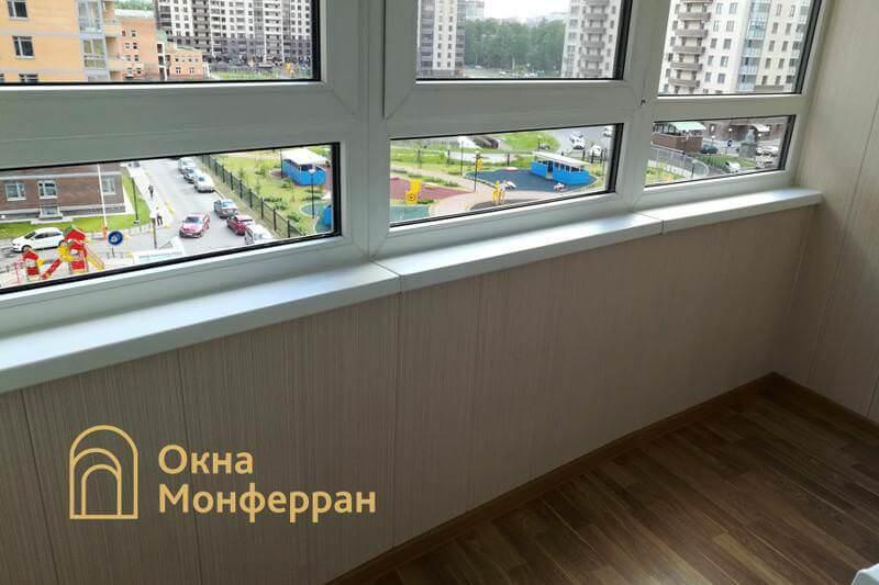 Замена холодного фасадного остекления на теплое ЖК Академ-Парк
