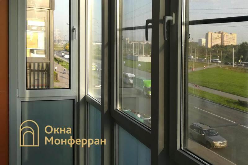 Замена холодного фасадного остекления на теплое ЖК Балтийская Жемчужина