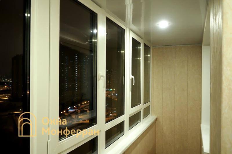 Замена холодного фасадного остекления на теплое ЖК Северная Долина