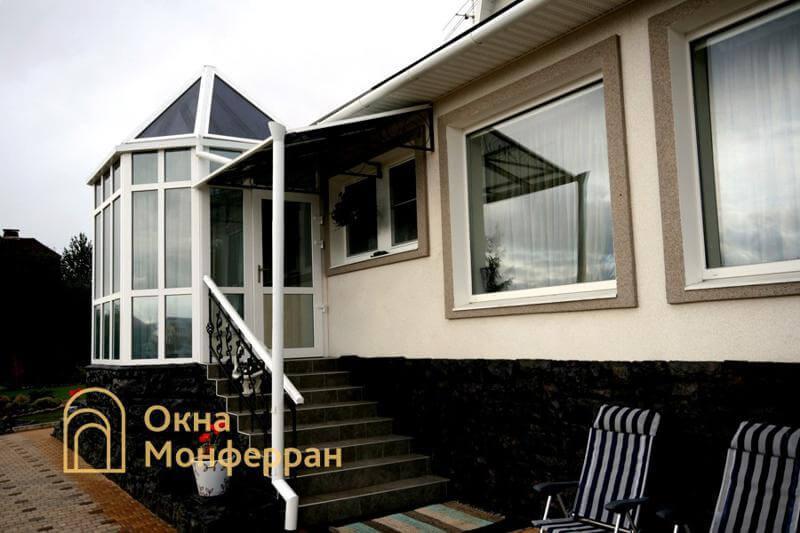 Пластиковые окна на даче, пос. Мистолово