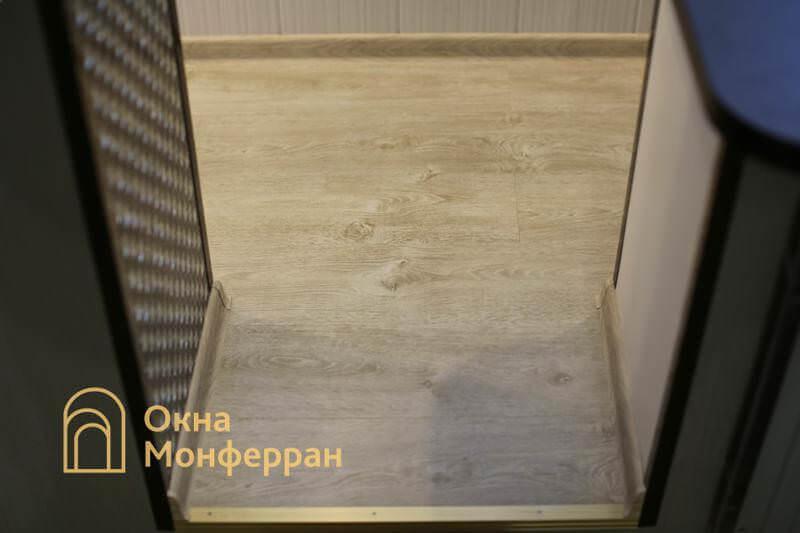 Объединение балкона с комнатой, пр. Шлиссельбургский