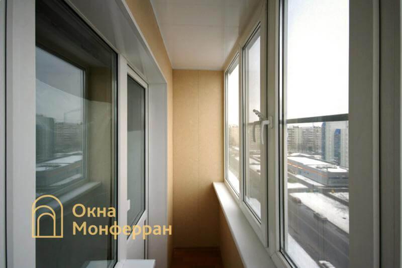 Утепление балкона в 137 серии