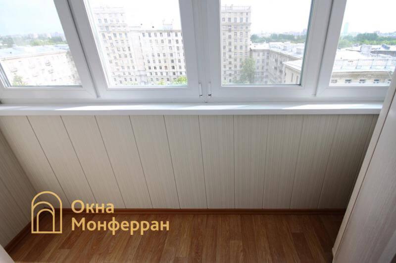 Остекление и отделка балкона под ключ в сталинке, ул. Свеаборгская