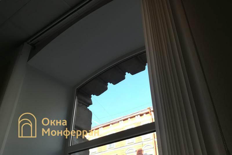 Пластиковое окно в старом фонде, ул. Восстания