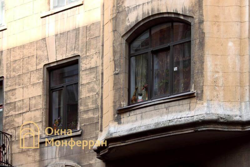 Пластиковые окна в старом фонде, пр. Лиговский