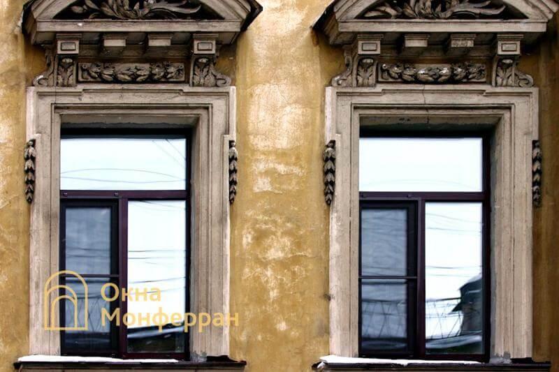 Пластиковые окна в старом фонде, ул. Достоевского