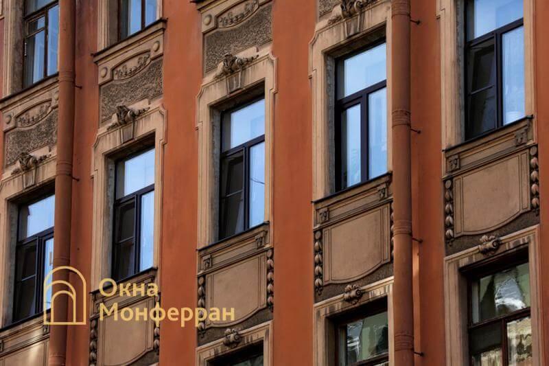 Пластиковые окна в старом фонде, ул. Верейская