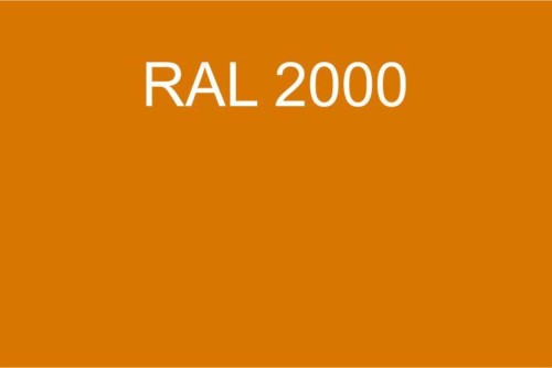 027 RAL 2000