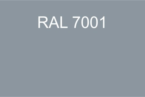 122 RAL 7001