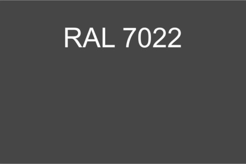 137 RAL 7022
