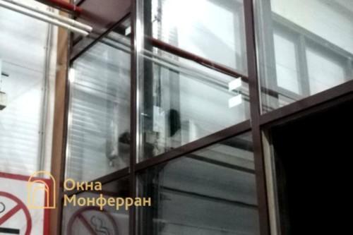 11 Остекление фасадным профилем Татпроф
