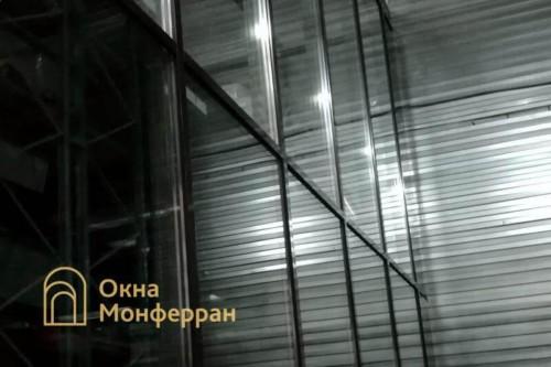 12 Остекление фасадным профилем Татпроф