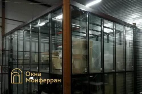 13 Остекление фасадным профилем Татпроф