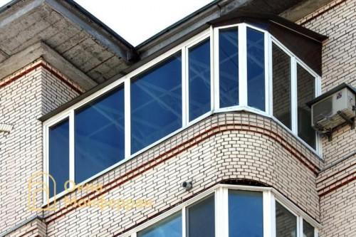01 Балкон с крышей шос Московское