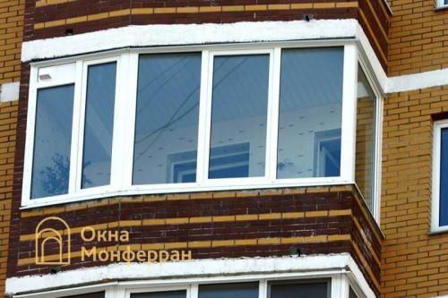 02 Остекление балкона, ул. Карпинского