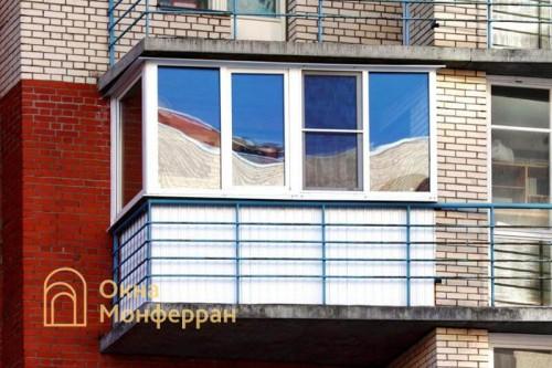 05 Теплое остекление балкона, пр. Луначарского