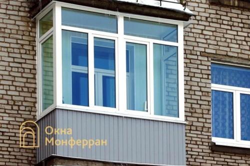 09 Остекление балкона в сталинке, ул. Орбели