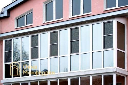 12 Теплое остекление балкона, г. Пушкин