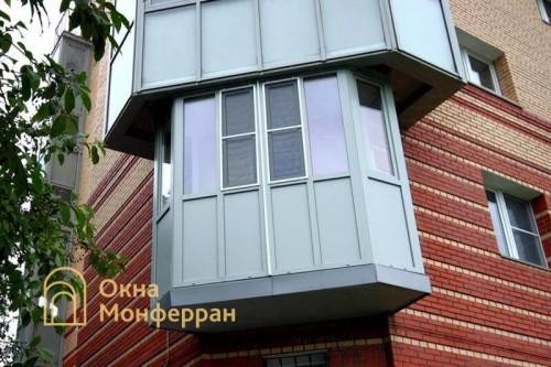 13 Фасадное остекление, г. Пушкин