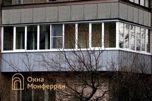 14 Остекление углового балкона пр Полюстровский