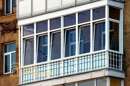 23 Теплое остекление балкона ул Савушкина
