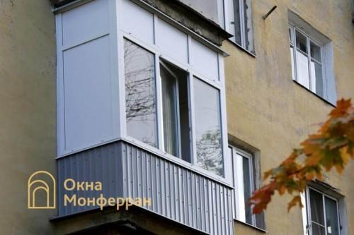 33 Теплое остекление балкона, пр. Кондратьевский