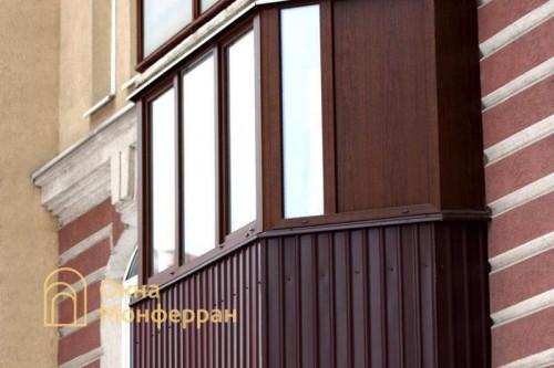 35 Теплое остекление балкона ул Афонская