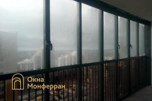 01 Балкон в Балтийской Жемчужине до выполнения работ