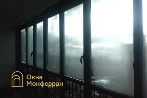 02 Балкон в Балтийской Жемчужине до выполнения работ