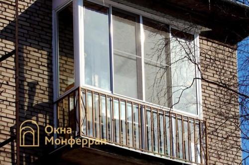 07 Панорамное остекление балкона, ул. Ивана Черных