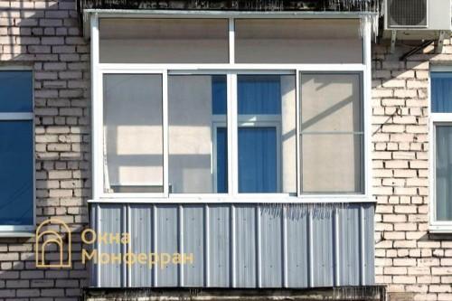 10 Остекление балкона в сталинке пр Московский