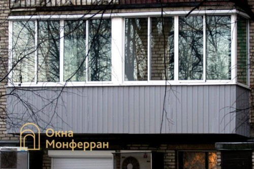 16 Холодное остекление балкона пр Светлановский