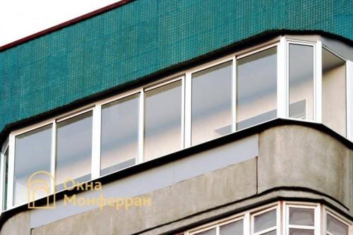 21 Остекление полукруглого балкона в 137 серии, пр. Маршала Жукова