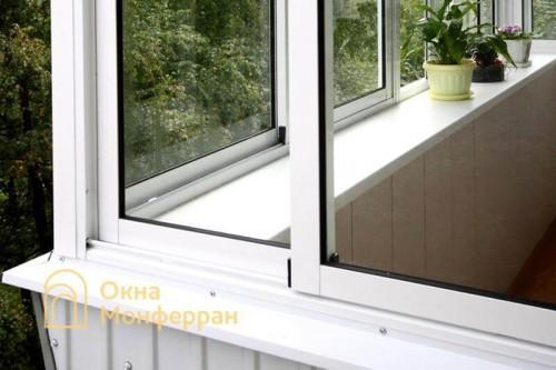 28 Остекление балкона с выносом, пр. Юрия Гагарина