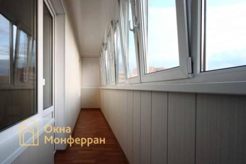001 Отделка шестиметрового балкона в 137 серии, ул. Маршала Захарова