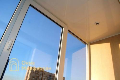 006 Отделка балкона пластиковыми панелями, пр. Просвещения
