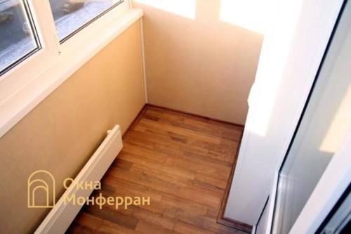 007 Отделка балкона пластиковыми панелями, пр. Просвещения